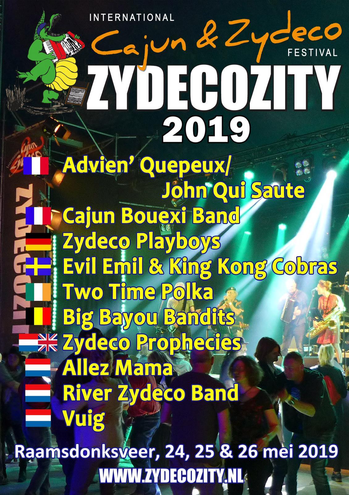 Zydecozity festival 2019