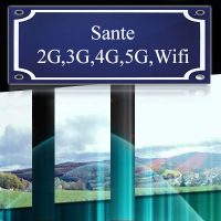Sante gezondheid 2G, 3G, 4G, 5G, wifi