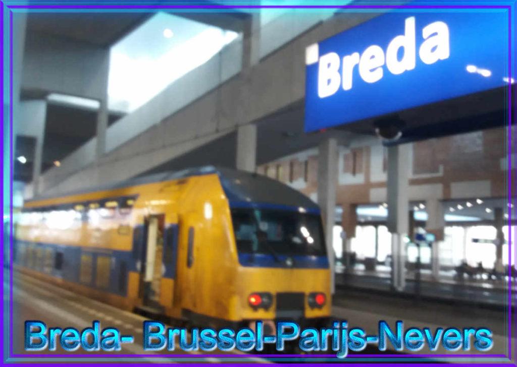 Met de trein van Breda naar Nevers